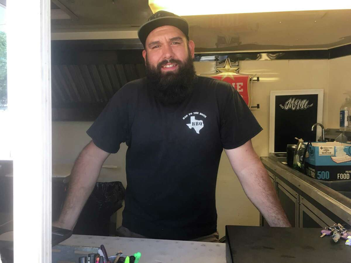 Hector Cabello has been running the Bad To The Bone BBQ food truck with his wife Crystal since 2016.