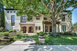This West U home with a full-size gymnasium is listed for $6.5 million.