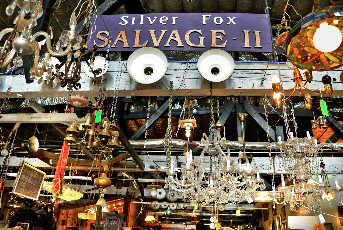 Inside Silver Fox Salvage as it prepares to go out of business after more than a dozen years Thursday Sept. 20. 1018 in Albany, NY. (John Carl D'Annibale/Times Union)
