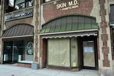 45 W. Putnam Ave. - The Southampton, N.Y.-based boutique shop Michelle Farmer Collaborate chose 45 E. Putnam Ave. in Greenwich for its first Connecticut store, having been founded in 2001 with a line of jewelry and expanding subsequently into apparel. In a prior brokerage listing, the storefront's owner had sought an asking price of $58 a square foot.