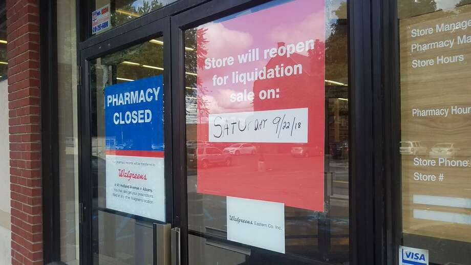 The Rite Aid in the Albany's South End has closed despite pleas from residents and public officials who said it was one of the few establishments in the neighborhood to buy basic food, household items and medication. A sign posted on the front door of the 310 S. Pearl St. store said it was closed and a liquidation sale would be held on Saturday. Photo: Chris Churchill / Times Union