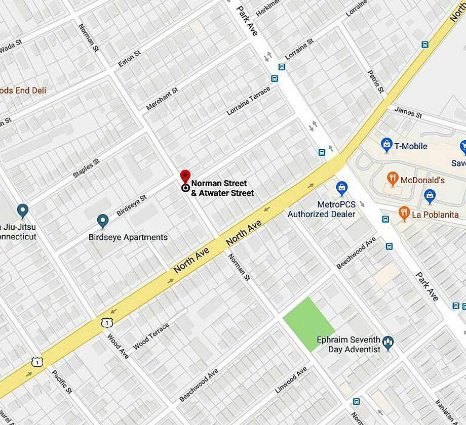 Bridgeport, Conn., police are investigating a shooting on Sept. 20, 2018. Photo: Contributed Photo / Google Maps