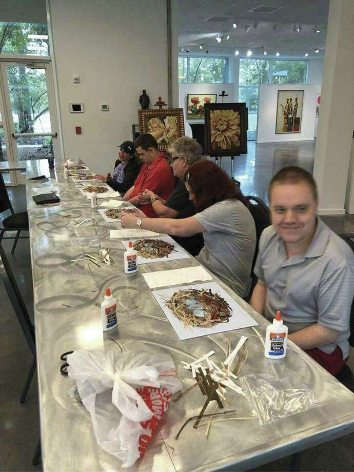 A recent First Monday Special Friends class at Glade Cultural Center, The Woodlands.