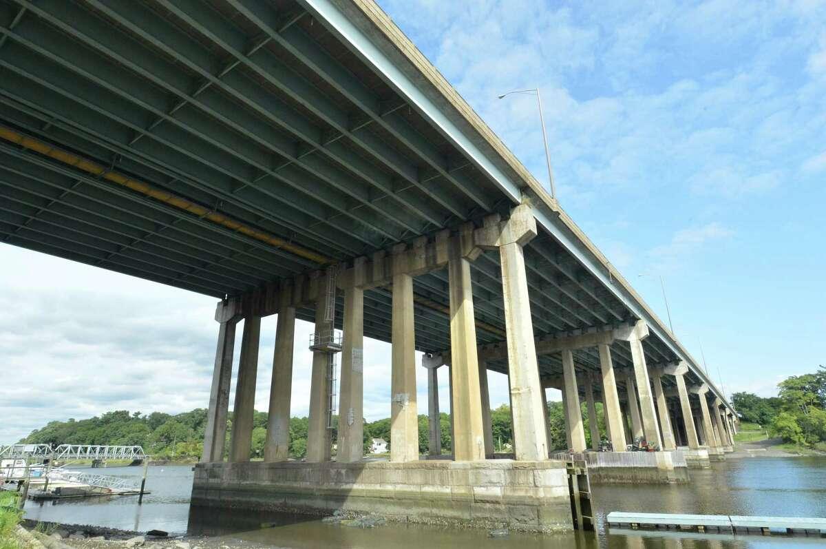 I-95 bridge over the Saugatuck River linking Westport and Norwalk