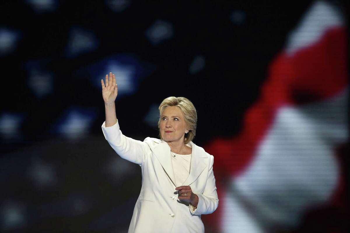 Hillary Clinton becomes the first woman to win the nomination for president from a major party in the United States on the final night of the Democratic National Convention at the Wells Fargo Center in Philadelphia on Thursday, July 28, 2016. The State Board of Education in Texas has voted to remove Hillary Clinton and Helen Keller, as well as other historical figures, from the curriculum.