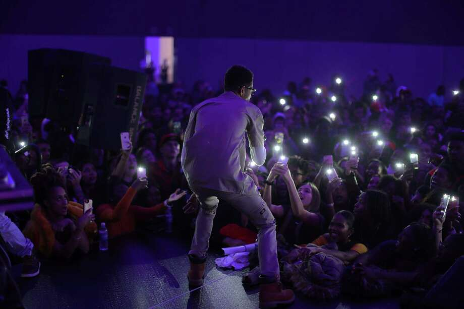 Catch These Vibes Album Release Party Friday November 17th, 2017 Artist: PNB Rock Location: Albany Capital Center Photographer: Wealthy Media