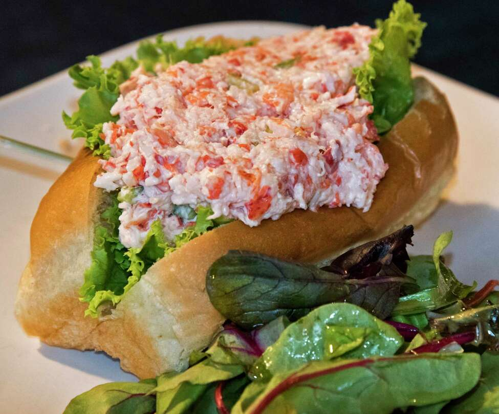 A lobster roll at the Sans Souci restaurant on Lake George Wednesday Sept. 12, 2018 in Cleverdale, NY. (John Carl D'Annibale/Times Union)