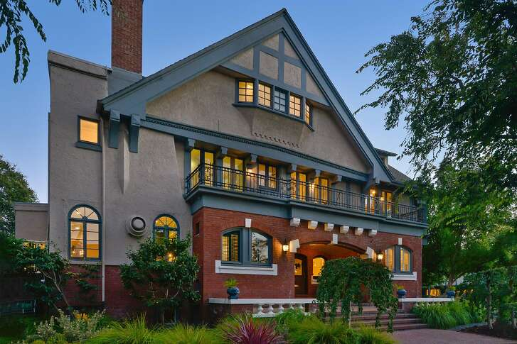 1200 San Antonio Ave. in Alameda is a five-bedroom Tudor with nearly 6,500 square feet of living space.�