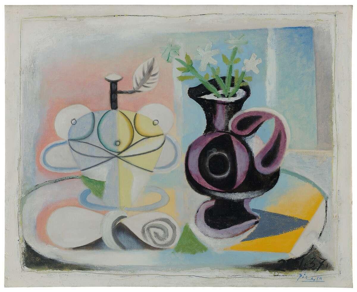 Pablo Picasso's La Cruche fleurie (Jug of Flowers), 1937
