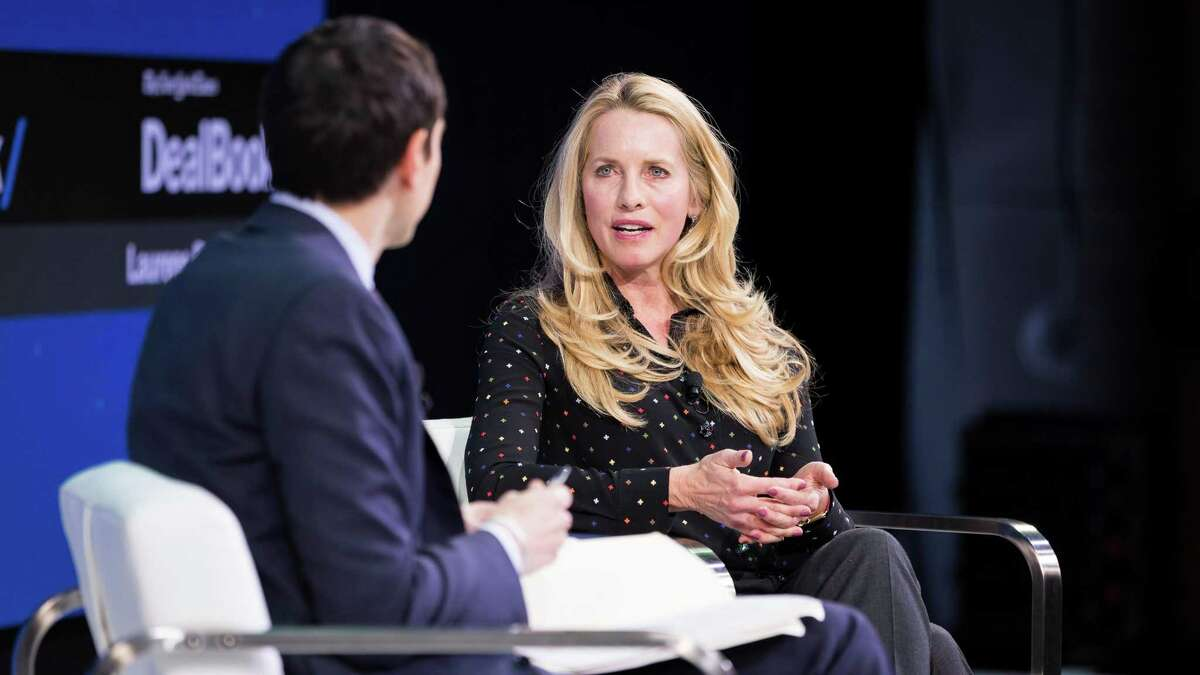 Laurene Powell Jobs, the widow of the Apple co-founder Steve Jobs and the head of the Emerson Collective, in New York, Nov. 9, 2017. Jobs has earned high marks for her stewardship of The Atlantic since taking a controlling stake in the magazine.