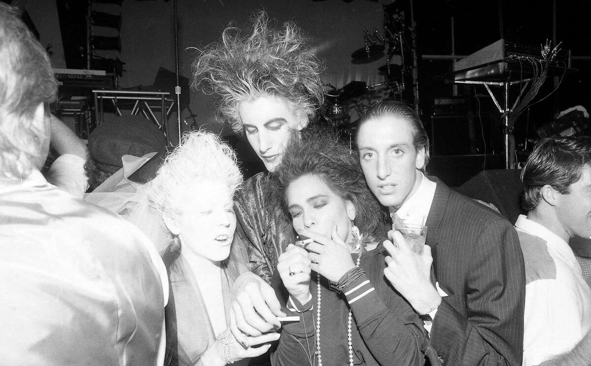 Sept. 25, 2018: Revelers at the Hard Rock Cafe opening in 1984.
