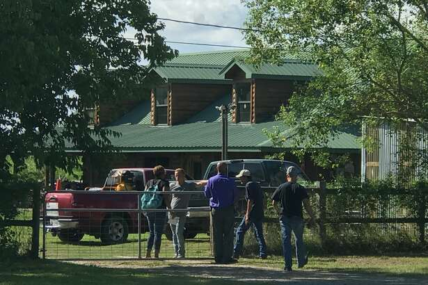 Police are in the 3400 block of 63rd Street in Port Arthur where a child has died after falling off a riding mower Thursday, September 20, 2018.