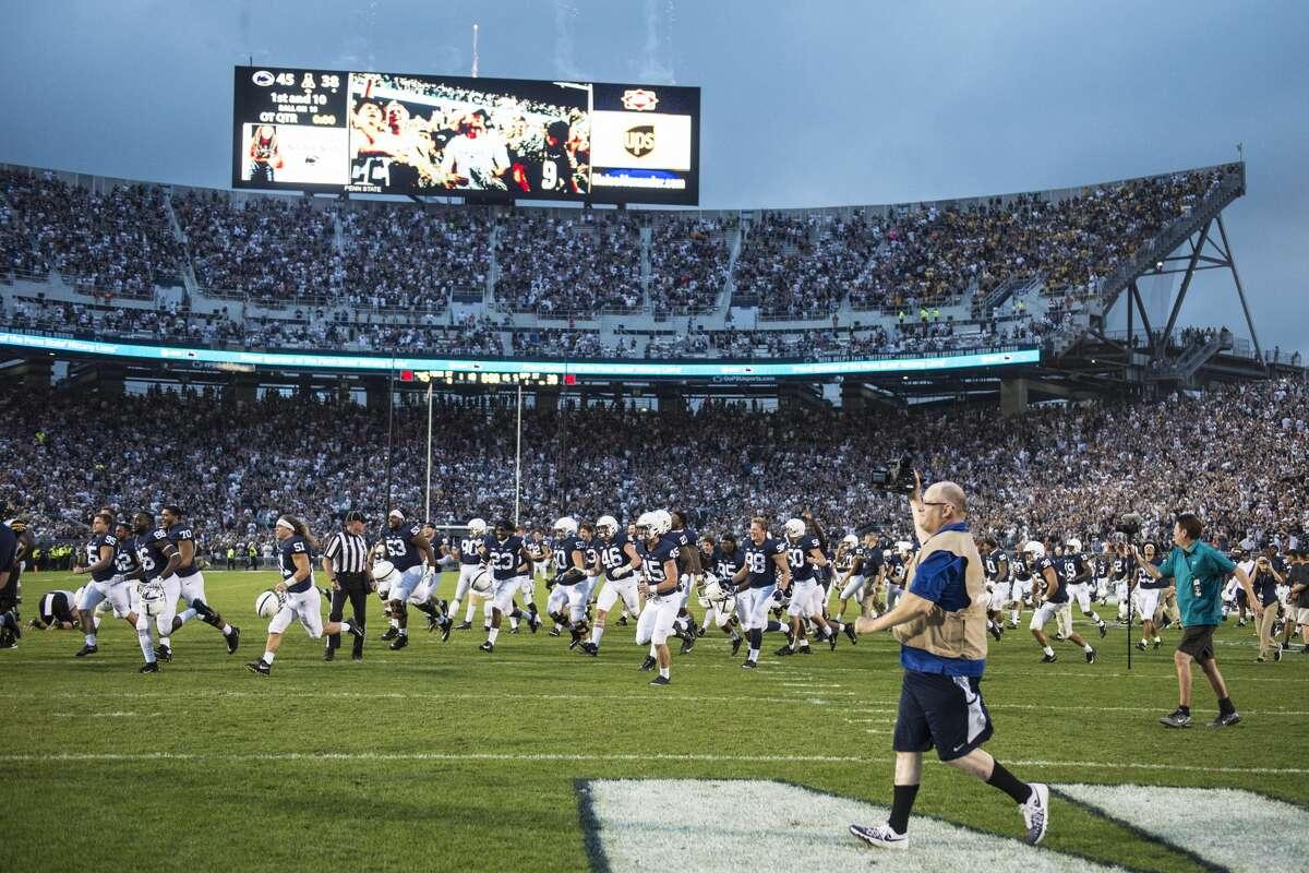 2. Penn State's Beaver Stadium University Park, Pa. Official capacity: 106,572