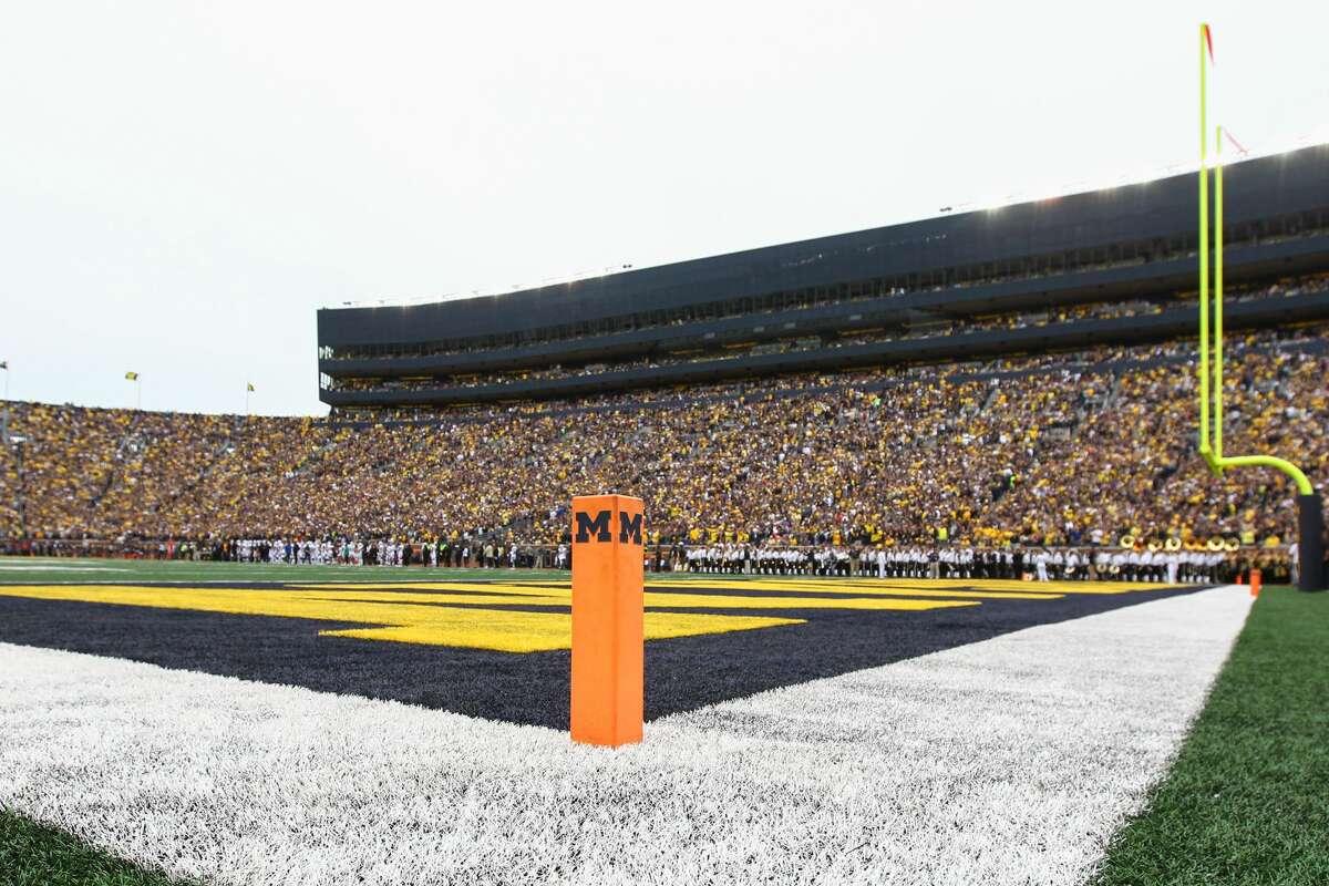 1. Michigan's Michigan Stadium Ann Arbor, Mich. 107,601