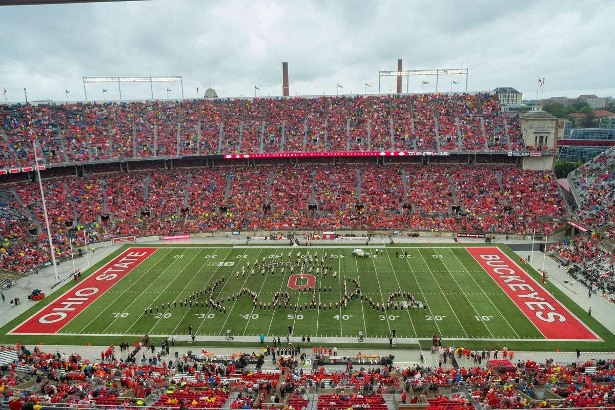 3. Ohio State's Ohio Stadium Columbus, Ohio Official capacity: 104,944