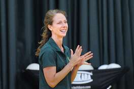 Greenwich Academy volleyball coach Christy Girard has the gators off to a 2-0 start this season.
