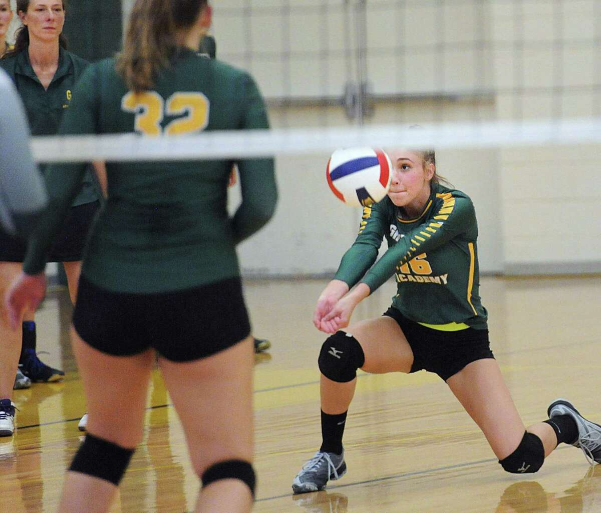 Greenwich Academy's Madlin Decker (16) is a senior captain for the Gators.