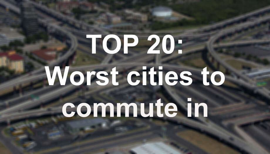 Do you live in any of these cities? Is your commute time worse? Photo: William Luther /San Antonio Express-News / © 2013 San Antonio Express-News