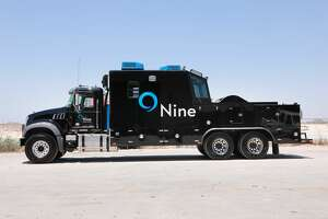 Nine Energy in Midland, TX on 6-11-18.   Wireline truck.Nine Energy Services has deployed three of its new SkyVIEW wireline trucks to the Permian Basin.