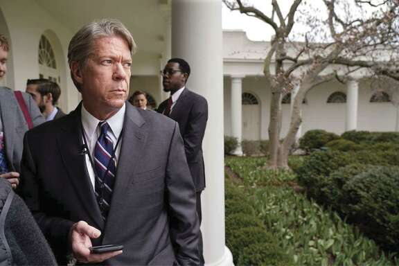 CBS News' chief White House correspondent Major Garrett at the White House in March 2018.