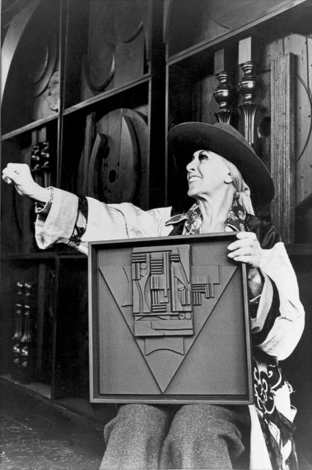 Sculptor Louise Nevelson in an undated photograph from her estate. Photo: Pace Gallery / Pace Gallery