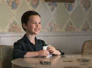 "Iain Armitage in the CBS series ""Young Sheldon."""