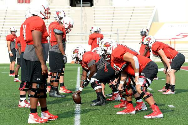 Lamar's Cardinals prepare for Saturday's homecoming match-up against Northwestern State. Tuesday, September 18, 2018 Kim Brent/The Enterprise