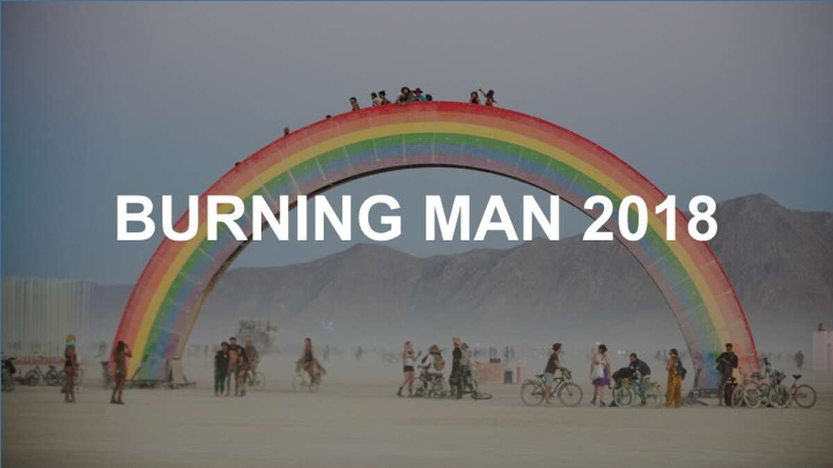 Check out the sights and scenes from Burning Man 2018.