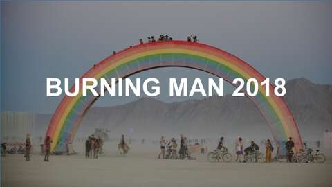 What it's like to visit Burning Man for the first time - SFGate