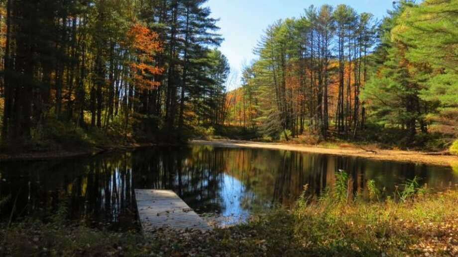 A new quarter-mile, fully accessible trail at Parsons Marsh in Lenox, Mass. was recently opened by the nonprofit Berkshire Natural Resources Council. (Photo courtesy of the council)