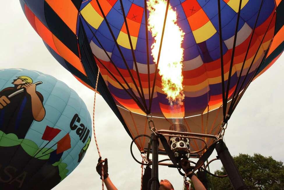 Thursday through Sunday: Head to the Adirondack Balloon Festival in Glens Falls.