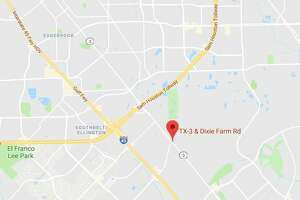 South Houston police arrested a driver Friday morning after a chase ended with a crash near Space Center Houston.