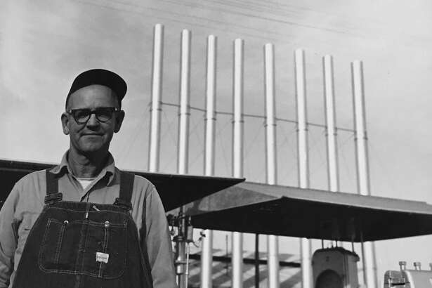 "Olen Eugene ""Gene"" Isbell worked for Midland Gasoline Plant southeast of Conroe from 1941 to his retirement in 1977. He retired as a field foreman at the company."