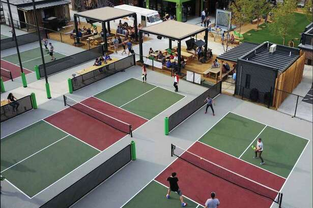 Chicken N Pickle will bring pickleball courts to its San Antonio location, building on the game's popularity at he original restaurant in North Kansas City, Missouri.