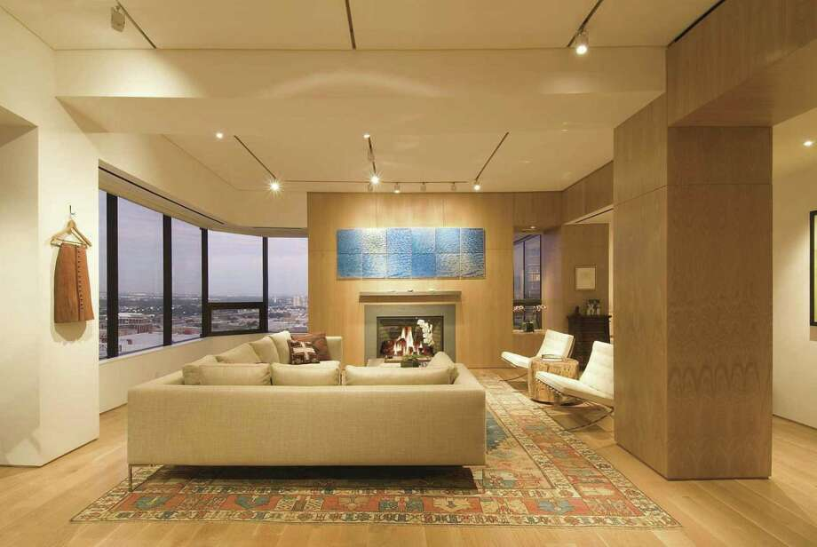 The penthouse at the Four Seasons, 1111 Caroline St., is filled with luxury amenities.