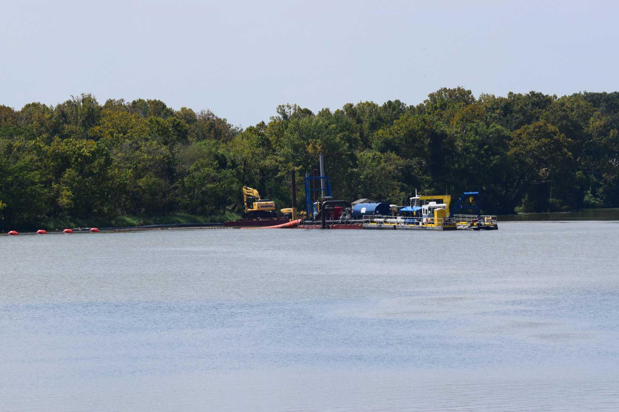Houston files application to finish dredging Kingwood mouth bar