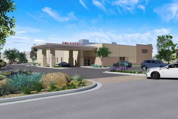 A rendering shows Kingwood Medical Center's new freestanding emergency room in Cleveland that is expected to be open in late May 2019.