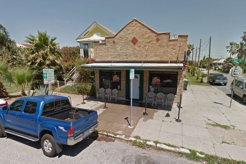 FILE - A screenshot of a Google Maps image of The Island Pier Club in the 1700 block of Avenue O in Galveston, Texas.