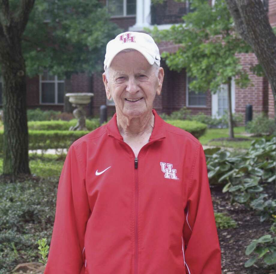 Tony Bruno has volunteered for the UH Cougars for 33 years.
