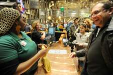 The grand opening of Bass Pro Shops in Bridgeport, Conn. on Wednesday, November 18, 2015.