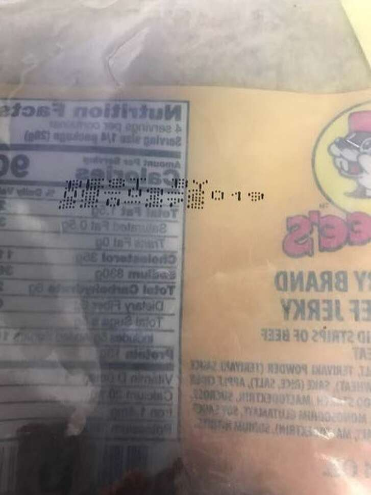 A South Texas company has recalled nearly 700 pounds of beef jerky after regulators say a consumer reporting finding hard metal in a product.