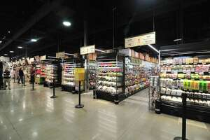 inside H Mart, a New Jersey-based Korean supermarket chain, which opened its third Houston-area store in Katy Asian Town on Friday, Sept. 21, 2018.