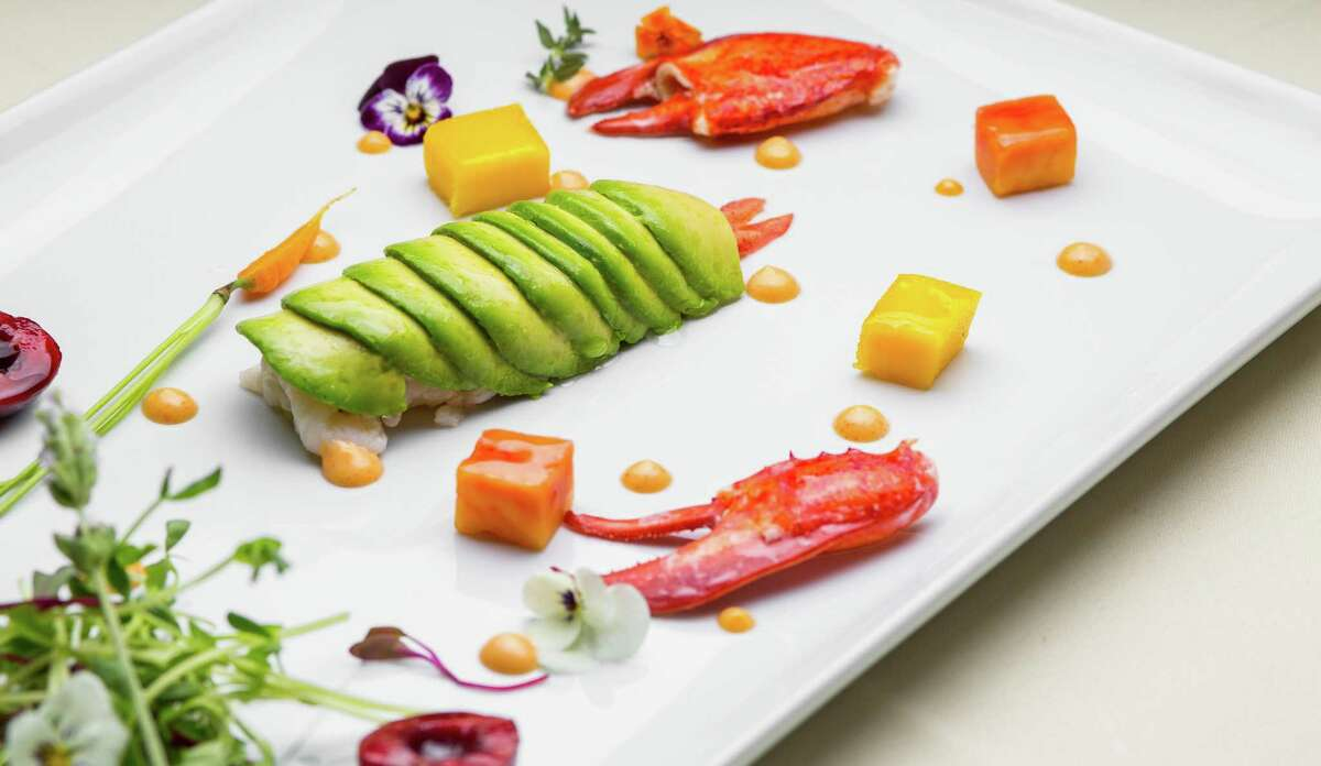 Lobster salad with mixed greens, mango, avocado and spicy mayonnaise at BCN Taste & Tradition