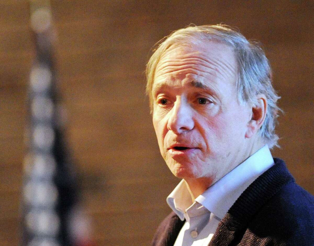 United Nations envoy Michael Bloomberg and Greenwich billionaire Ray Dalio (above) announced a $185 million partnership over four years between Dalio's OceanX initiative and Bloomberg Philanthropies to raise awareness of the challenges facing ocean ecosystems.