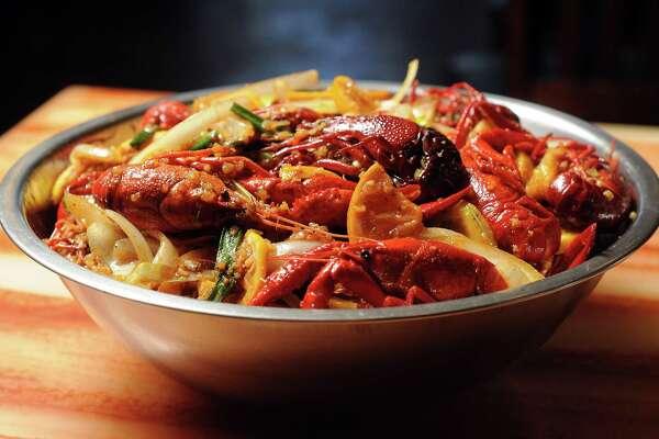 1of 2kitchen recipe crawfish at cajun kitchenphoto dave rossman freelance for the houston chronicle - Cajun Kitchen