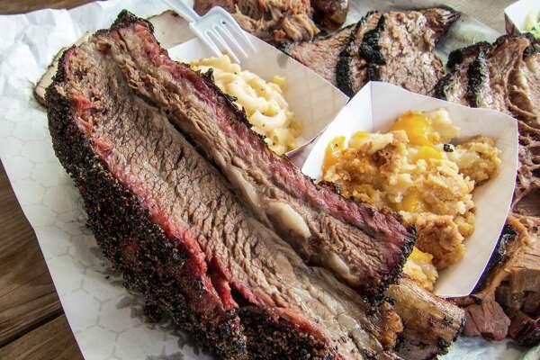 Beef rib at CorkScrew BBQ