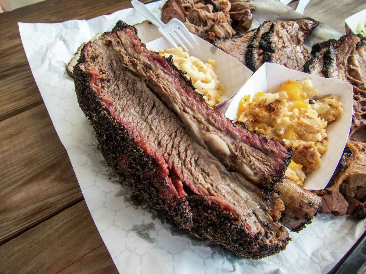 Beef plate rib at CorkScrew BBQ in Spring