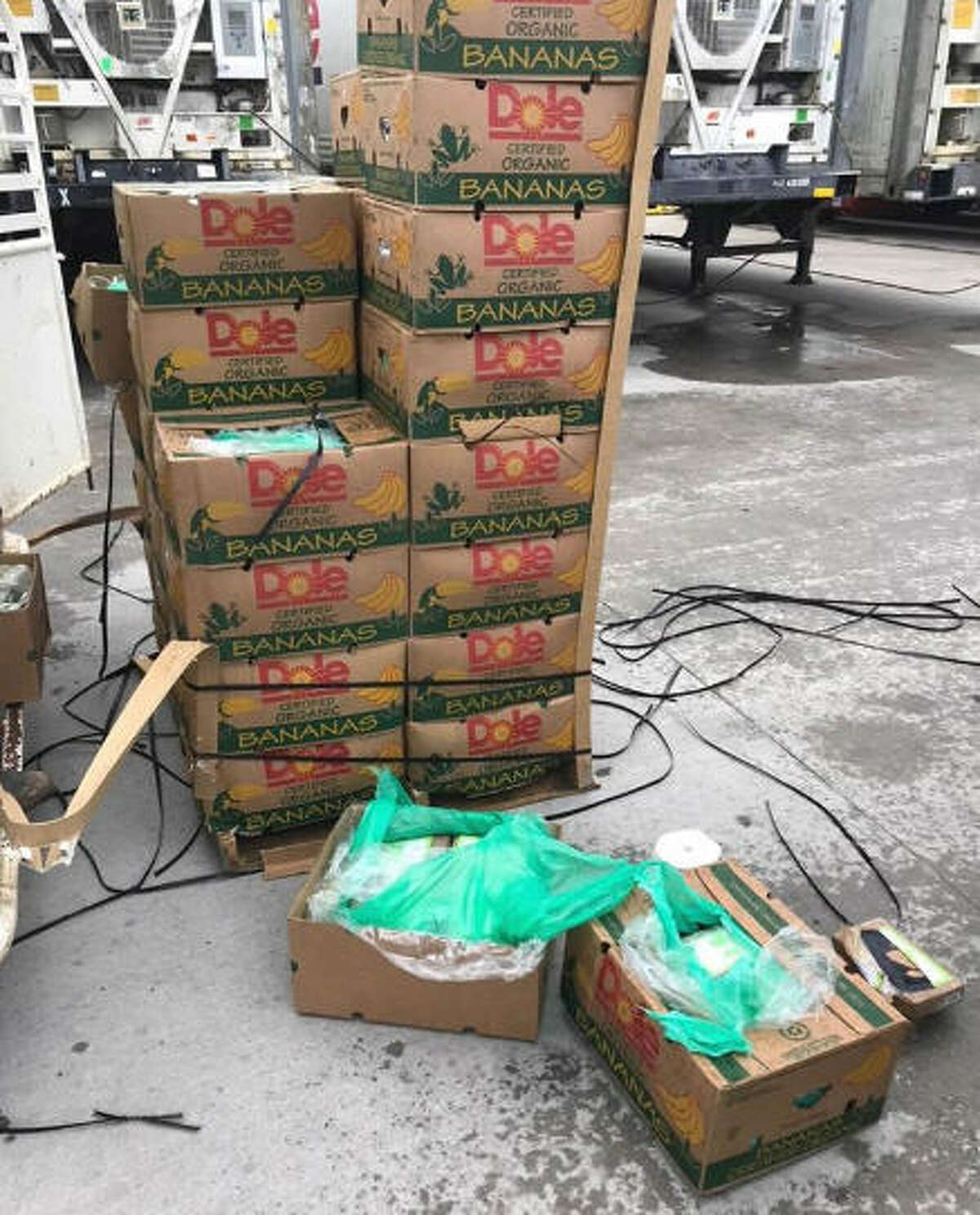 PHOTOS: Smugglers' blues Prison guards uncovered $17.8 million of cocaine hidden in a shipment of donated bananas. >>Agents have discovered many other tricks of the smugglers' trade ...