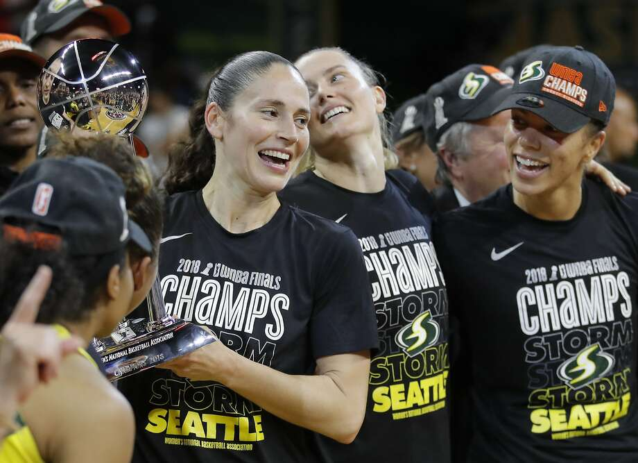 Sue Bird, fresh off winning a WNBA title with the Seattle Storm, is playing in a record fifth World Cup. Photo: Carolyn Kaster / Associated Press