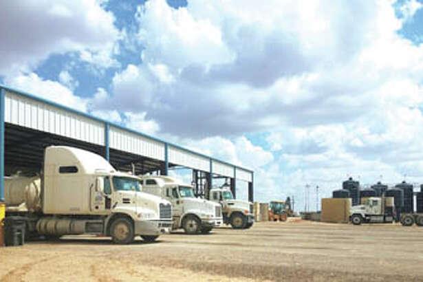 SWD trucks dump produced water, pick up fresh or brine in one trip at Buchanan Disposal